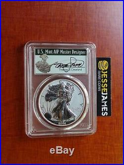2006 P Reverse Proof Silver Eagle Pcgs Pr70 Thomas Cleveland From 20th Ann Set
