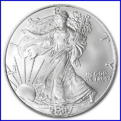 2006-W Burnished Silver American Eagle SP/MS-70 PCGS SKU #64165