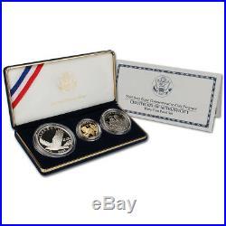 2008 US Bald Eagle 3-Coin Commemorative Set