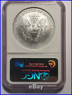 2008-W Reverse of 2007 America Silver Eagle NGC MS70 Lowest Price On Ebay