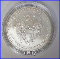 2008-W Reverse of 2007 Burnished Silver American Eagle Error Coin. #37