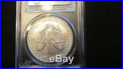 2008-W Silver Eagle First Strike Reverse Of 07 2007 PCGS MS70