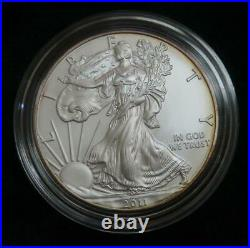 2011 American Silver Eagle 25th Anniversary Set 5 Coins Original Packaging
