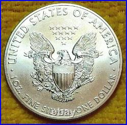 2011 American Silver Eagle ROLL of 20 OZ 99.9% Pure Silver! FREE SHIPPING