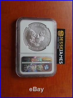 2011 S Silver Eagle Ngc Ms70 From The 25th Anniversary Set Top 50 Label