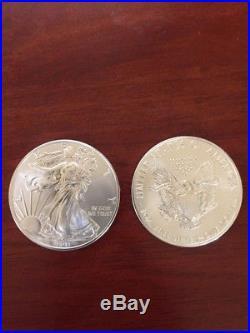 2011 Silver American Eagle Roll of 20 1oz Coins BU