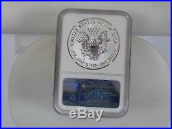 2011-p Eagle Reverse Pf S$1 25th Anniversary Set Pf 70 Ngc #3