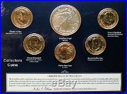 2012, 2013, 2014, 2015 & 2016 Mint Annual Dollar Sets wBurnished Silver Eagles