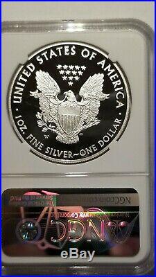 2013W Silver Eagle Congratulations Set NGC PF70 Ultra Cameo Pop 116