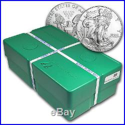 2014 500-Coin Silver Eagle Monster Box (WP Mint, Sealed) SKU #83788