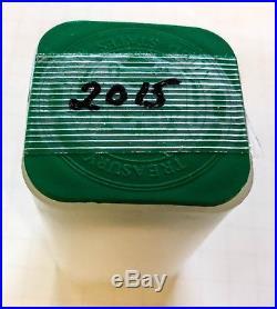 2015 1 Oz Silver American Eagle BU, Rolls of 20 Coins, in Original US Mint Tubes