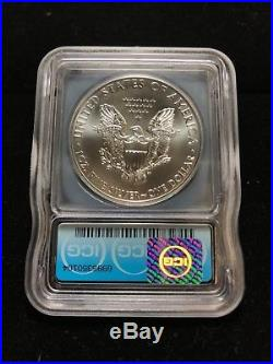 2015 (P) Silver Eagle ICG MS70 S$1 Struck at Philadelphia Mint 1 of only 79,640