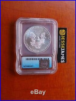 2015 (p) Silver Eagle Icg Ms69'struck At Philadelphia Mint' Mintage 79,640 Key