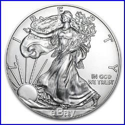 2016 1 oz Silver American Eagle Coins BU (Lot, Roll, Tube of 20) SKU #95425