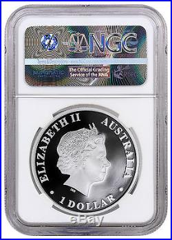 2016-P Australia 1 oz Silver Wedge Tailed Eagle NGC PF70 ER (Mercanti) SKU43057