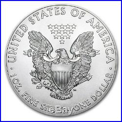 2016 Silver Eagle Roll (20) Coins CH/GEM BU. 999 Tube of American Eagle Dollars