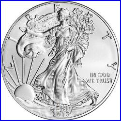 2016-W American Silver Eagle Burnished PCGS SP70 First Strike
