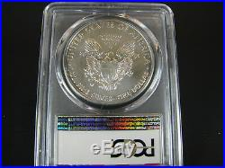 2016 W Burnished Silver American Eagle, Uncirculated Dollar Set PCGS Sp 70