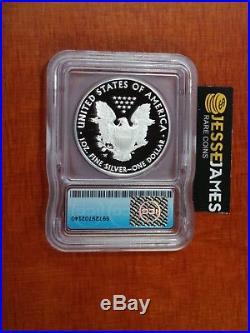 2016 W Proof Silver Eagle Icg Pr69 Congratulations Set 30th Ann Lettered Edge