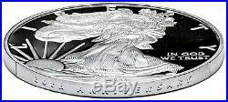 2016-w Mint Engraver Silver Eagle-west Point Mint Hoard-pcgs Pr70-mercanti-flag