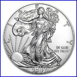 2017 1 oz Silver American Eagle BU (Monster Box of 500oz) SKU #117471