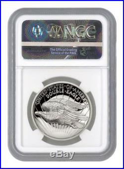 2017 Double Eagle Indian Head Pattern HR 1 oz Silver Medal NGC PF70 UC SKU51687