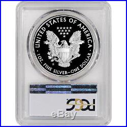 2017-S American Silver Eagle Proof PCGS PR70 First Strike Golden Gate Label