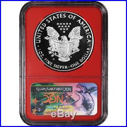 2017-S Proof $1 American Silver Eagle Congratulations Set NGC PF70UC 225th ER La