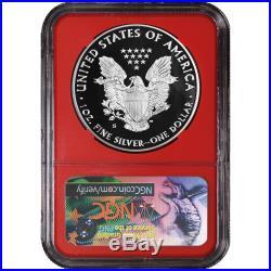2017-S Proof $1 American Silver Eagle Congratulations Set NGC PF70UC 3pc 225th E