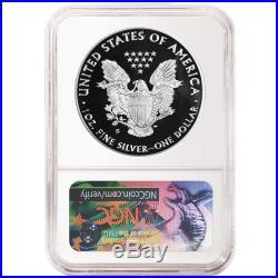 2017-S Proof $1 American Silver Eagle Congratulations Set NGC PF70UC Blue ER Lab