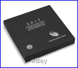 2017-S US Mint Limited Edition Silver Proof Set with American Eagle 17RC In Stock