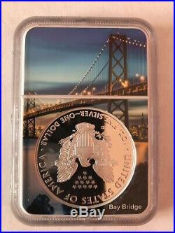 2018-S Proof $1 American Silver Eagle NGC PF70UC ER San Francisco Core