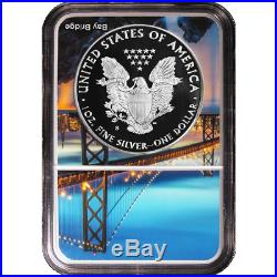 2018-S Proof $1 American Silver Eagle NGC PF70UC FDI San Francisco Core