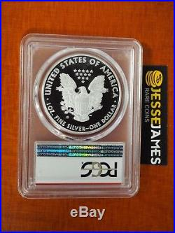 2018 S Proof Silver Eagle Pcgs Pr70 Dcam First Day Of Issue Fdi Denver Location