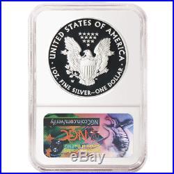 2018-W Proof $1 American Silver Eagle Congratulations Set NGC PF70UC Blue ER Lab