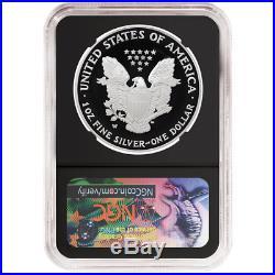 2020-W Proof $1 American Silver Eagle Congratulations Set NGC PF70UC FDI First L