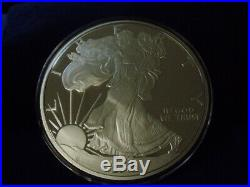 2019 Proof Silver Eagle ONE TROY POUND. 999 fine silver 12 TROY OZ IN STOCK NOW