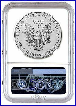 2019 S 1 oz Silver Eagle Enhanced Reverse Proof $1 NGC PF69 ER PRESALE SKU60028