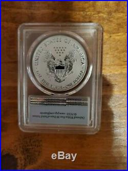 2019-S American Eagle One Ounce Silver Enhanced Reverse Proof 69 First Strike