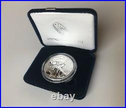 2019-S American Eagle One Ounce Silver Enhanced Reverse Proof Coin 19XE