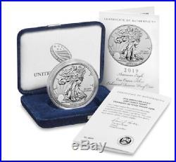 2019 S American Eagle Silver Enhanced Reverse Proof PRE-ORDER