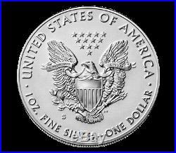 2019-S Enhanced Reverse Proof $1 American Silver Eagle Box OGP & COA