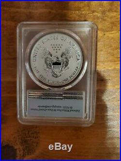 2019 S Enhanced Reverse Proof Silver Eagle PCGS PR70 First Strike RARE Coin