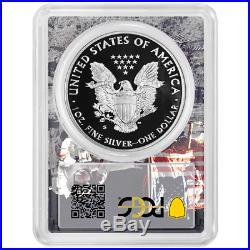 2019-S Proof $1 American Silver Eagle PCGS PR70DCAM FDOI Man on The Moon Frame
