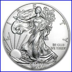 2019 Silver Eagle Roll (20) Coins CH/GEM BU. 999 Tube of American Eagle Dollars