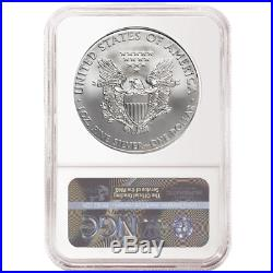 2019 (W) $1 American Silver Eagle 3 pc. Set NGC MS70 FDI First Label Red White B