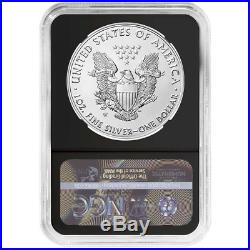 2019-W Reverse Proof $1 American Silver Eagle NGC PF70 Blue ER Label Retro Core
