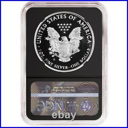 2020-S Proof $1 American Silver Eagle NGC PF70UC Trump ER Label Retro Core