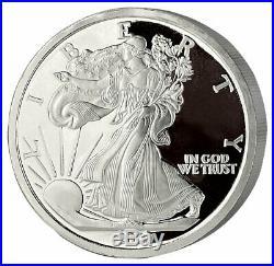 2020 SilverTowne American Silver Eagle 5 oz Silver Medallion BU SKU61002