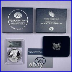 2020 W American Silver Eagle V75 Privy Proof PCGS PR69 DCAM FIRST STRIKE withOGP